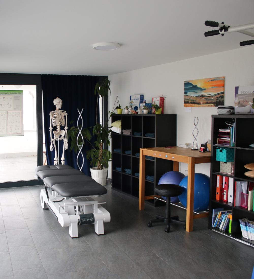 Raum für Physiotherapie im Therapiezentrum Sprockhoff