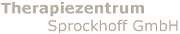 Therapiezentrum Sprockhoff GmbH Logo